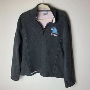 Disney Store Exclusive Fleece Pullover Size Large